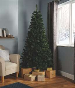 5ft, 6ft, 7ft Woodland Classic Christmas Tree Reduced to £12/£16/£20 @ B&Q