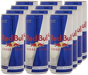 Red Bull Energy Drink, 12 x 250ml £7.50 or £7.13 S&S @ Amazon
