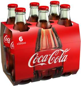 Coca Cola Glass Bottles (6x330ml) - £3.49 @ B&M