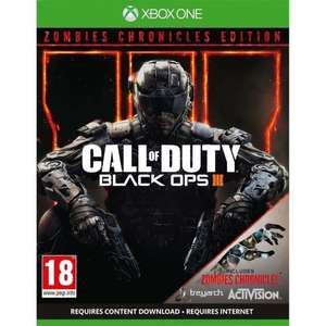 Call Of Duty: Black Ops III - Zombies Chronicles Edition (XO/PS4) £28.85 Delivered @ Shopto