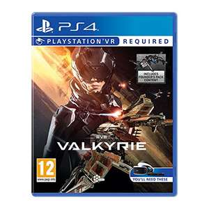 Eve Valkyrie PS VR (£14.49 on orders over £20) @Amazon