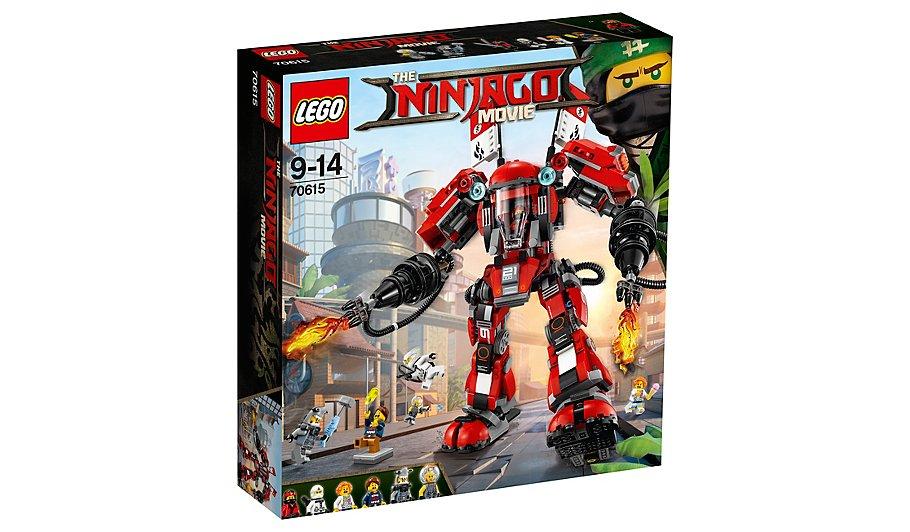 LEGO Ninjago - Fire Mech - 70615 £37 @ Asda