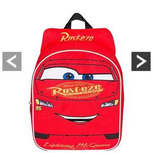 Cars 3 Lightning McQueen plush backpack £7.49 at Very plus free click and collect