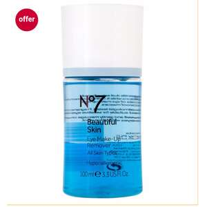 3 for 2 (Today Only) NO7 Eye Makeup Remover