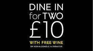 M&S Dine in for 2 with wine - 6th to 12th December - Mains including Sirloin/Rump steak - Rotisserie chicken - Oakham turkey roulade
