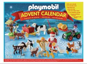 Playmobil 6624 Christmas on the Farm Advent Calendar £9.99 Argos