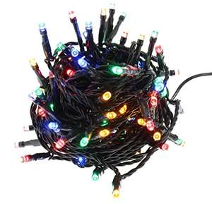 300 LED Christmas Lights with 10m lead length for £9.99 (Prime) / £14.74 (non Prime) at Amazon