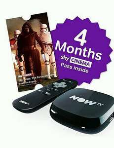 NOW TV Box with 4 month Sky Movies Pass £19.97 @ Currys (Free R&C)