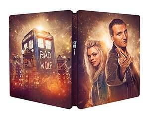 Doctor Who - Series 1 (Amazon Exclusive) [Blu-ray Steelbook] [2017] £14.99 Prime / £16.98 Non Prime @ Amazon