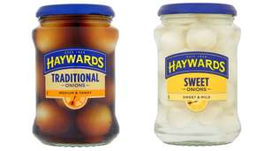 Haywards Traditional Pickled  Onions and Silverskins Onions  400G jars are Reduced from £1.89 to 75p @ Tesco starting Tomorrow