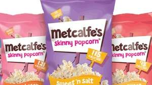 Metcalfes Skinny popcorn 80gTESCO, down to £1 - and then works out at 50p after checkoutsmart