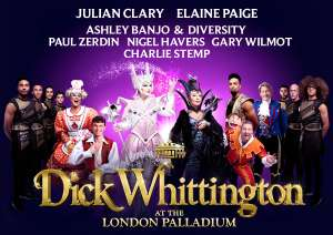 Dick Whittington London Palladium 4 Tickets For £195