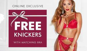 Ann Summers - FREE Knickers w/ a matching bra [online only] from £20
