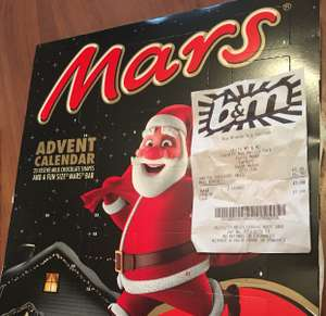 Mars Advent Calendar 10p In B&M