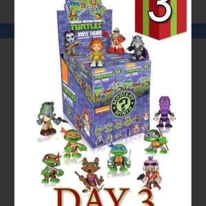 Forbidden planet Teenage Mutant Ninja Turtles Mystery Minis Full Case of 12 for £30.00