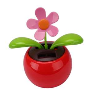 Solar Powered Dancing Flower Decoration 56p Delivered with code @ Zapals