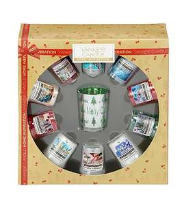 Yankee Candle 10 Votive Gift Set (Was £18) Now £12.00 C&C at Asda George