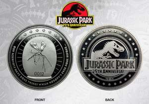 Jurassic Park (Back to the Future, Sonic & Street Fighter too) Limited Edition Coin £9.99 / £11.94 delivered @ Funstockretro