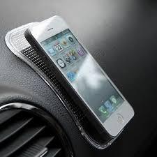 Car Anti-Slip Mat for Mobile Phones (Transparent) £0.33p Delivered! GEARBEST!