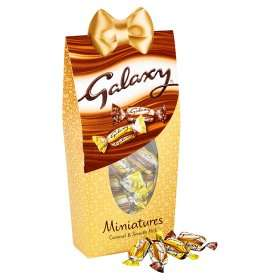 Galaxy Miniatures Caramel & Smooth Milk 299g £2 @ ASDA