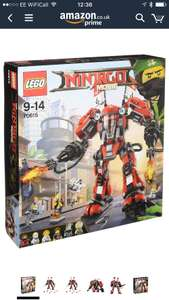 Lego Ninjago Fire Mech 70615  £37 @ Amazon