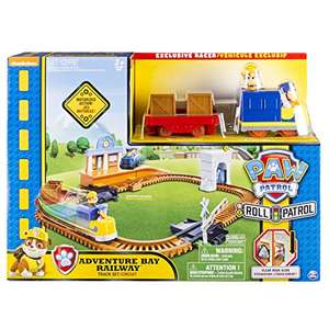 Paw Patrol Adventure Bay Railway Track Playset £11.99 prime / £16.74 non prime @ Amazon