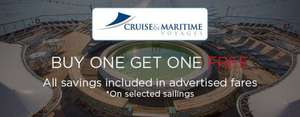 Buy one get one free on a Cruise at Cruise118.com