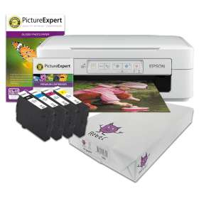 Epson XP-247 Wireless printer + Set of Ink cartridges, photo paper, plain paper and Next Day Delivery £35 @ Cartridge People