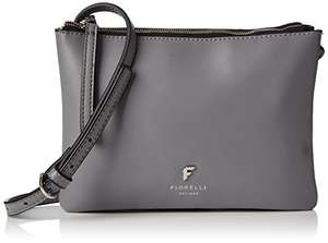 Fiorelli Womens Bunton Cross-Body Bag - now £23.49 delivered @ Amazon (Grey/Black/Brown)