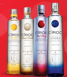 Any bottle of Ciroc Vodka 70cl for £19.99 when you signup for Bargain Booze club