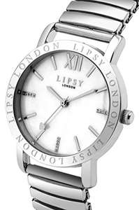 Lipsy Women's SLP001P Quartz Watch with Mother Of Pearl Dial £10.75 Prime / £15.49 Non Prime @ Amazon