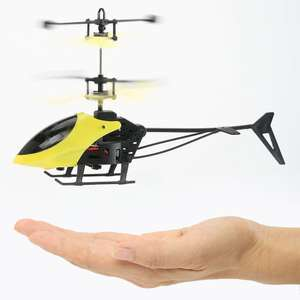 Mini Infrared Induction Flashing Light Flying Helicopter £3.66 Del with code @ Rosegal