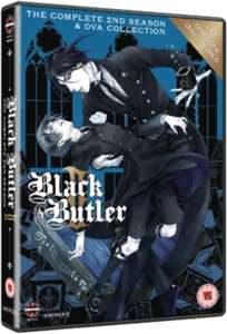 Black Butler: The Complete Second Season £7.79 @ Hive.co.uk