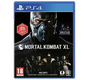 Mortal Kombat XL - PS4 @ Argos - £15.99
