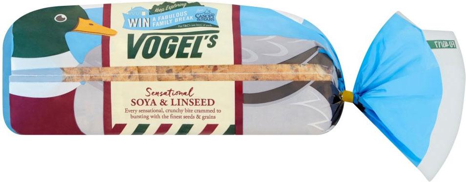 Vogel's Soya & Linseed Sliced Brown Bread (800g) / Vogel's Original Mixed Grain Sliced Bread (800g) / Vogel's Sunflower Chia & Pumpkin (750g) / Vogel's Ancient Grains (750g) was £1.55 now £1.16 @ Waitrose