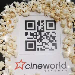 Free Regular Popcorn at Cineworld (05/12)