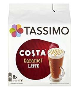Cheap Tassimo caramel latte pods (Pack of 5, Total 80 discs, 40 servings) £16.65 prime / £21.40 non prime @ Amazon