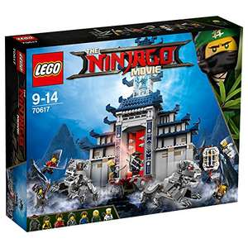 Lego Ninjago Temple of Ultimate Weapon &  free additional Lego set £59.99 @ Amazon