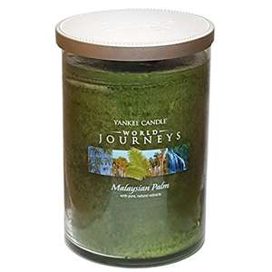 Yankee Candle World Journeys Malaysian Palm Large Jar Twin Wick Tumbler 566g £7.99 prime / £12.74 non prime Sold by My Swift and Fulfilled by Amazon