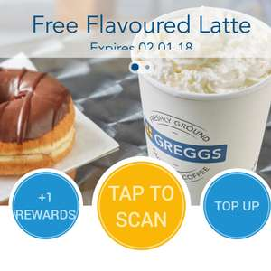 Greggs Free Flavoured Coffee