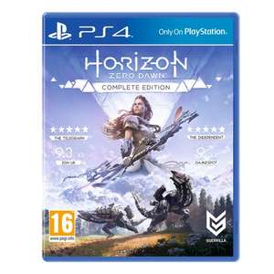 [PS4] Horizon Zero Dawn: The Complete Edition - free delivery £31.99 @ Smyths Toys