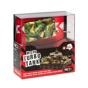 Micro tank RC WAS £30 NOW £15 instore/online @ Debenhams