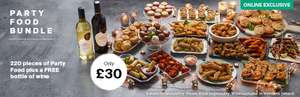 Iceland party bundle £30 plus free bottle of wine