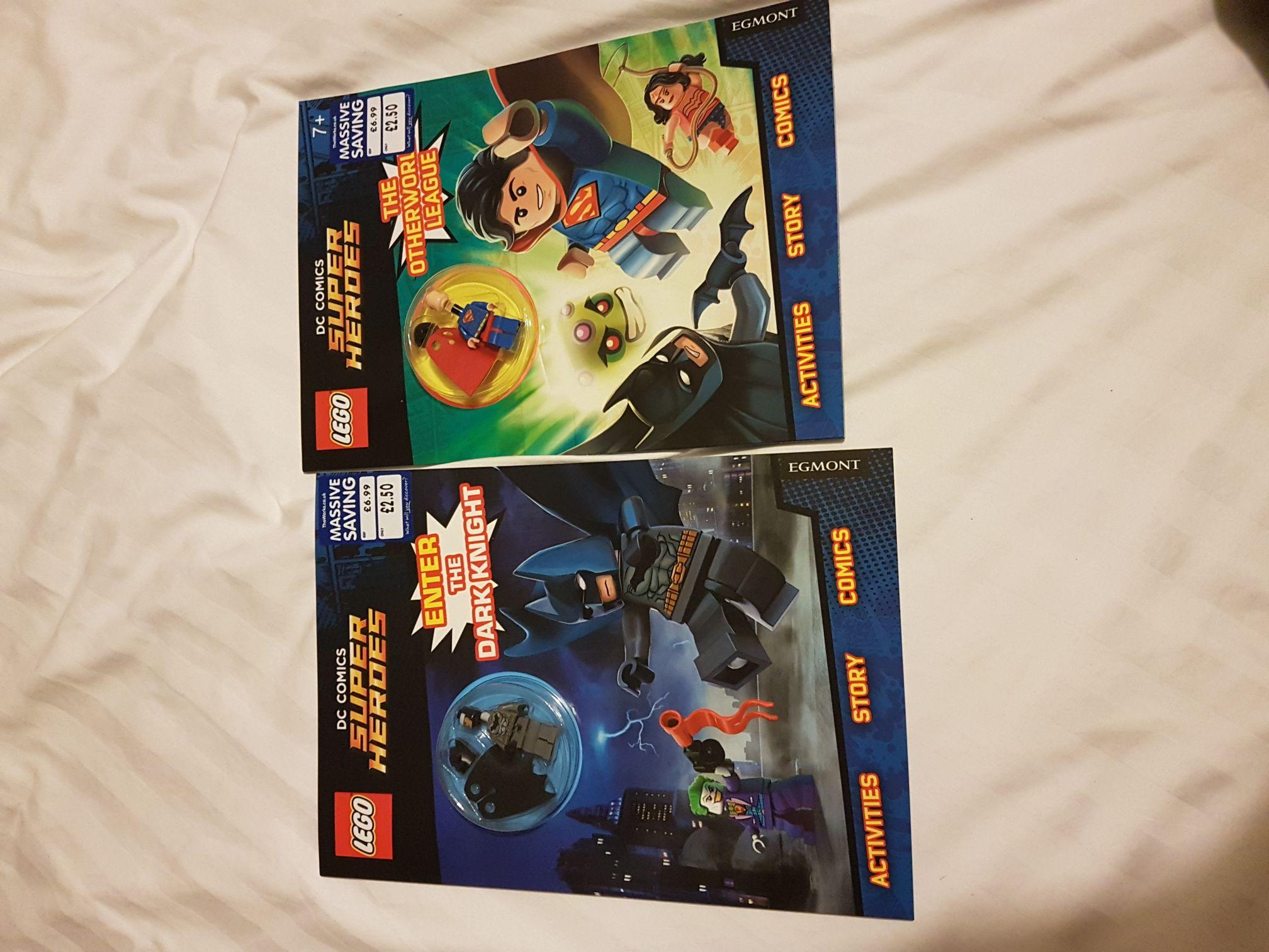 The Works LEGO DC Comics super heroes mini figure - £2.50