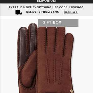Ugg gloves £65 @ Ugg Outlet