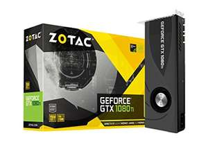 Zotac NVIDIA GeForce GTX 1080 Ti 11 GB with Blower Graphics Card - £623.99 @ Amazon