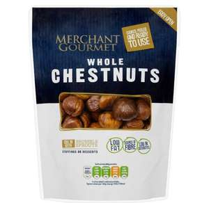 Merchant Gourmet whole chestnuts 180gms - £1 @ Tesco
