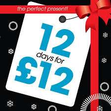 12 Days For £12 @ TotalFitness (with code)