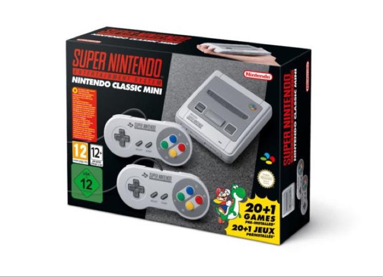 Super Nintendo Classic Mini @ Tesco (instore) - £79.99
