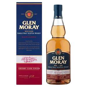 Glen Moray Sherry Cask Finish Single Malt Whisky 70cl. £18 @ Morrisons